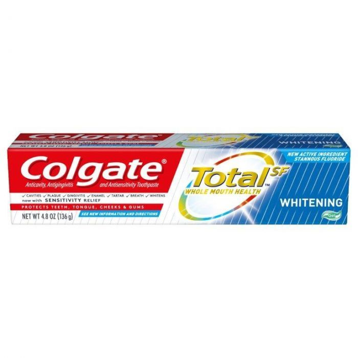 Colgate Total Whitening Gel (4.8 Oz)