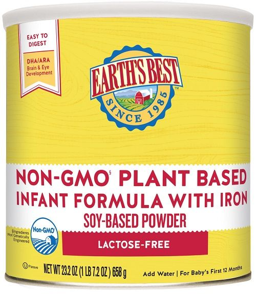 Earth'S Best Lactose Free (23.2 Oz)