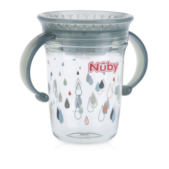 Nuby 8 Oz 2 Handle Tritan 360 Cup