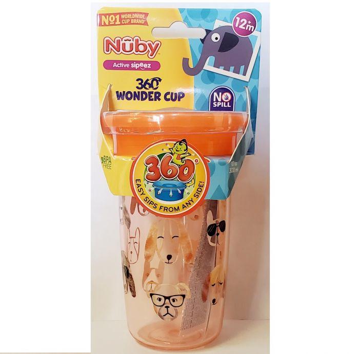 Nuby 10 Oz Tritan 360 Wonder Cup