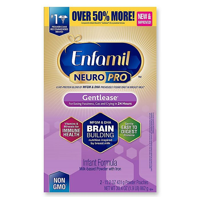 Enfamil Neuropro Gentlease  Refill Box (2 X 15.2 Oz)