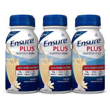 Ensure Plus Vanilla 8 Oz (4 X 6 Pack)