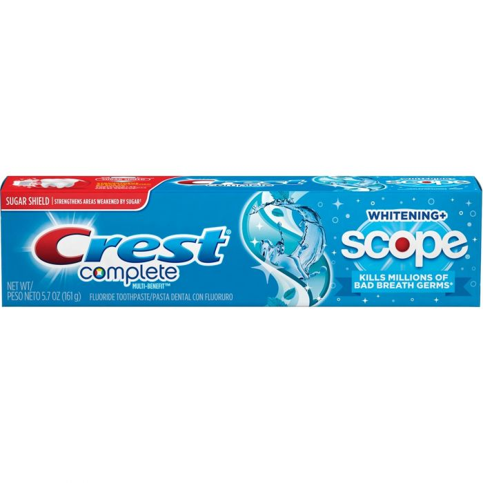Crest Complete Plus Whitening W/ Scope Cool Peppermint (5.4 Oz)