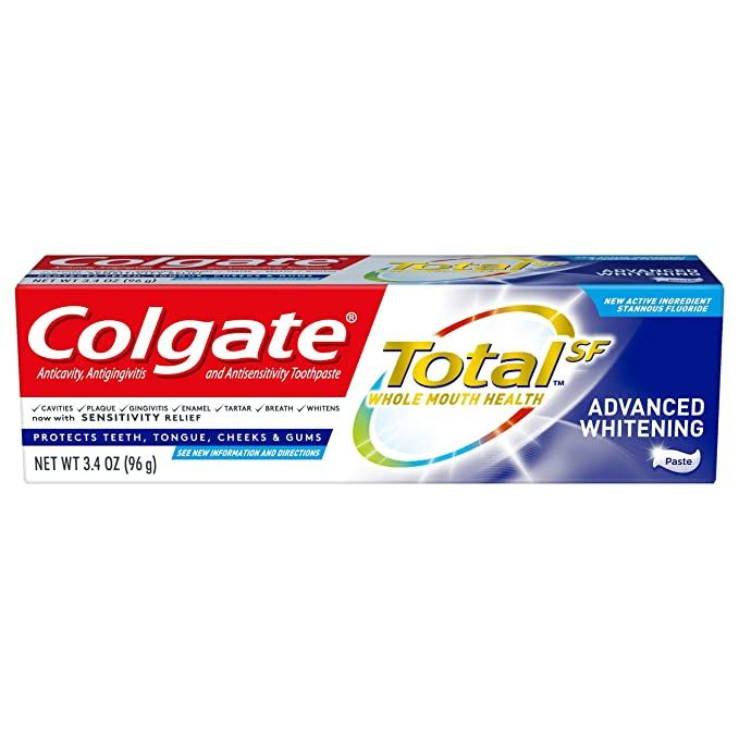 Colgate Total Advanced Whitening Paste (3.4 Oz)