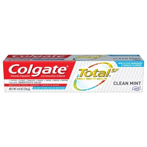 Colgate Total Clean Mint Paste (4.8 Oz)