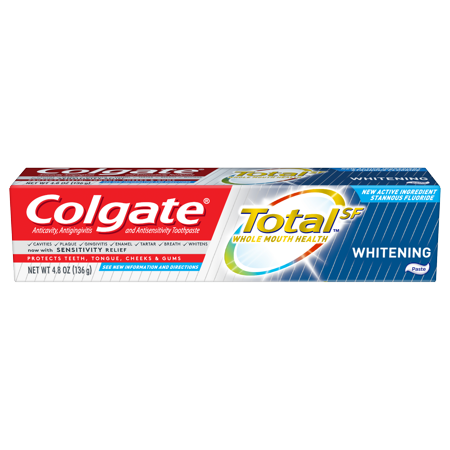 Colgate Total Whitening Paste (4.8 Oz)