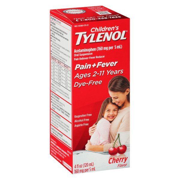 Tylenol Children Cherry (4 Oz)