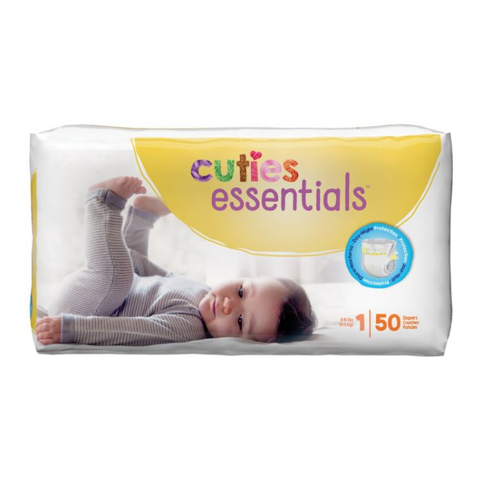 Cuties Diapers Size 1 (50 Ct)