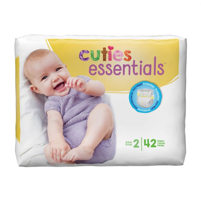 Cuties Diapers Size 2 (42 Ct)