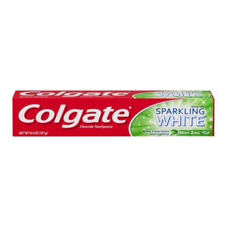 Colgate Baking Soda Sparkling White Mint Zing Gel (6 Oz)