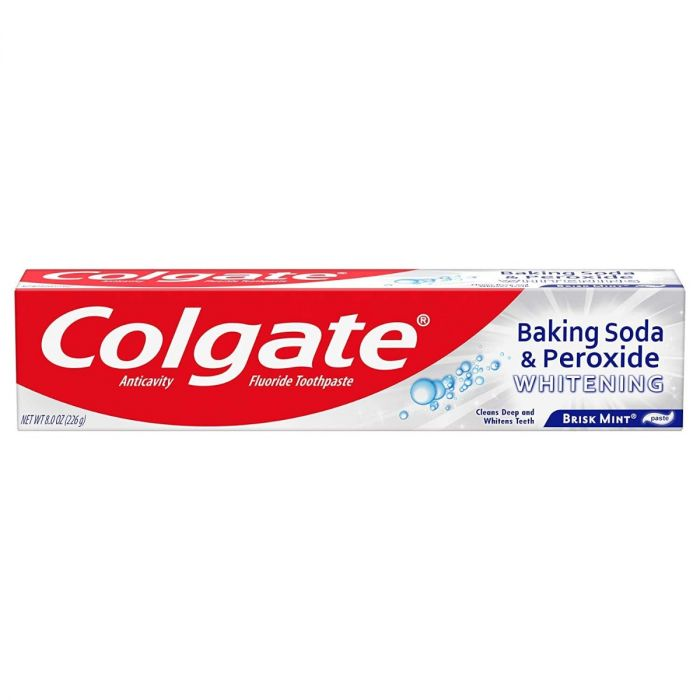 Colgate Baking Soda & Peroxide Brisk Mint Paste (8 Oz)