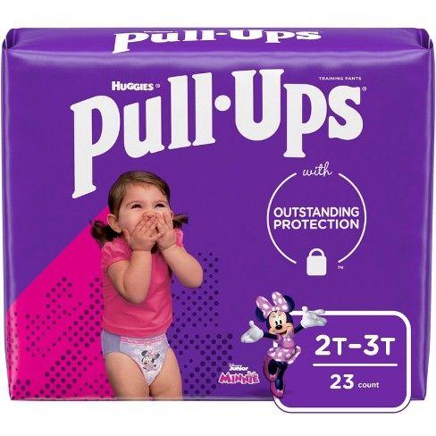 Huggies Pull Ups Girls  2T-3T
