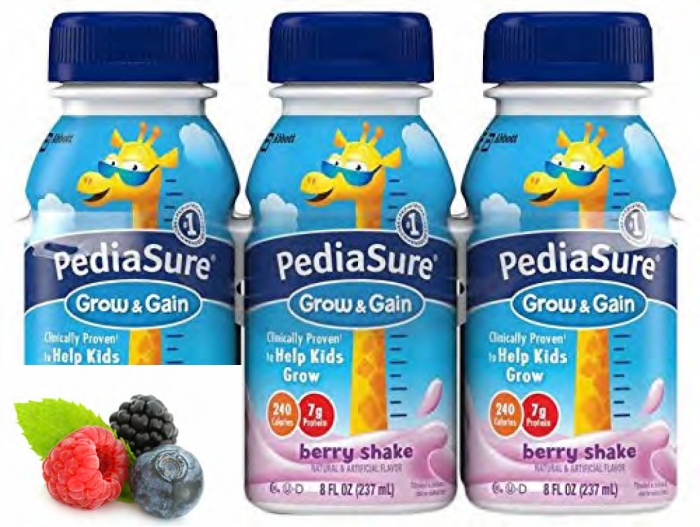 Pediasure Berry 8 Oz (4 X 6 Pack)