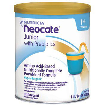 Neocate Jr Unflavored With Prebiotics Powder (14.1 Oz)