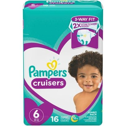 Pampers Cruisers Size 6