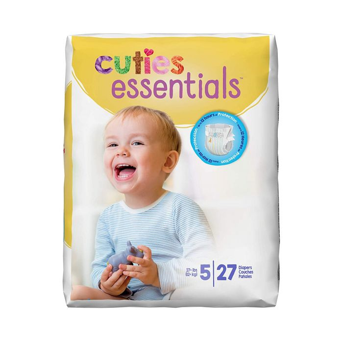 Cuties Diapers Size 5 (27 Ct)
