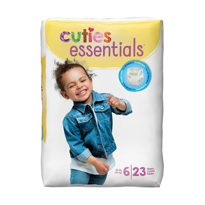 Cuties Diapers Size 6 (23 Ct)