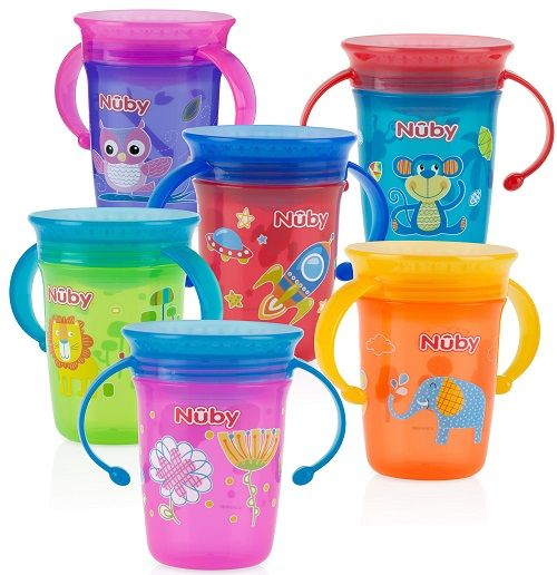 Nuby 360 Wonder Cups 4 Pk