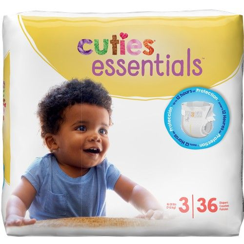 Cuties Diapers Size 3 (36 Ct)