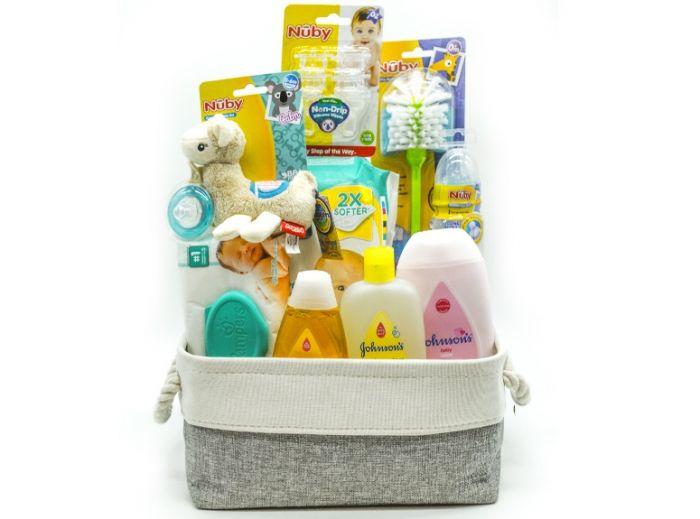 Medium Gift Basket (Newborn Essentials)