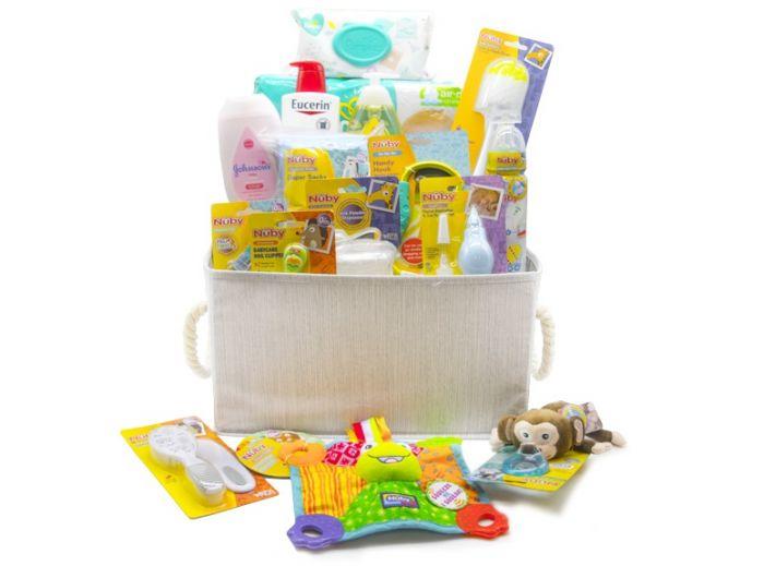 Large Gift Basket (Newborn Essentials)