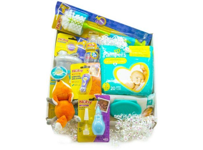 Small Gift Basket (Newborn Essentials)