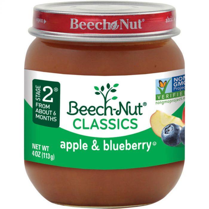 Beechnut Apple & Blueberry (10 X 4 Oz)