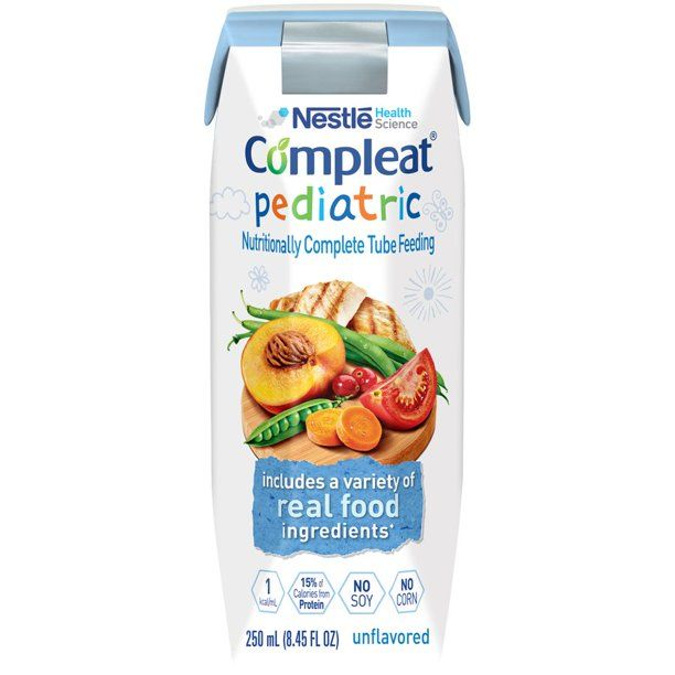 Compleat Pediatric Unflavored 1 Cal (8.45 Oz)