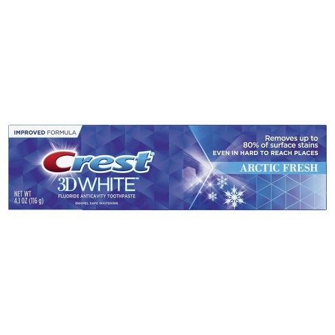 Crest 3D White Arctic Fresh (4.1 Oz)
