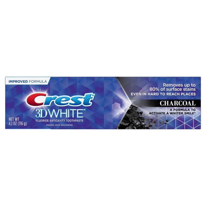 Crest 3D White Charcoal (4.1 Oz)