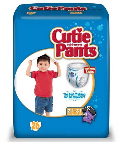 Cuties Pants 2T-3T Boys (26 Ct)