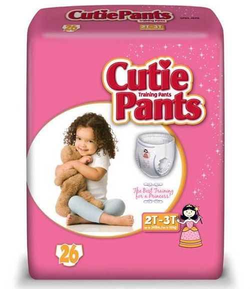 Cuties Pants 2T-3T Girls (26 Ct)