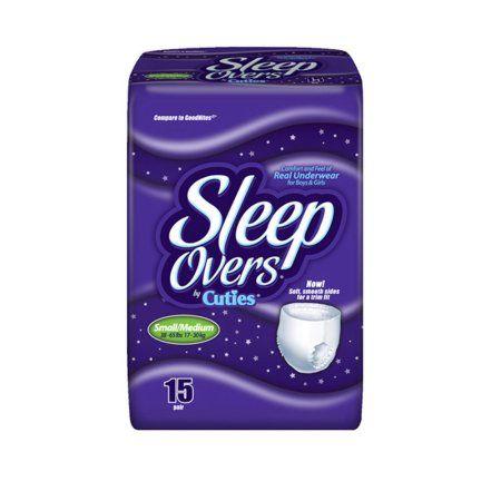 Cuties Sleepover S/M (15 Ct)