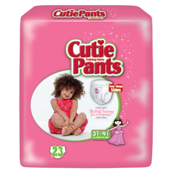 Cuties Pants 3T-4T Girls (23 Ct)
