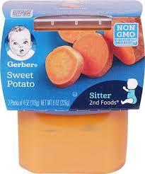 Gerber Sweet Potato 8 Pack (2 X 4 Oz)