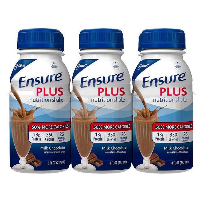 Ensure Plus Milk Chocolate 8 Oz (4 X 6 Pack)