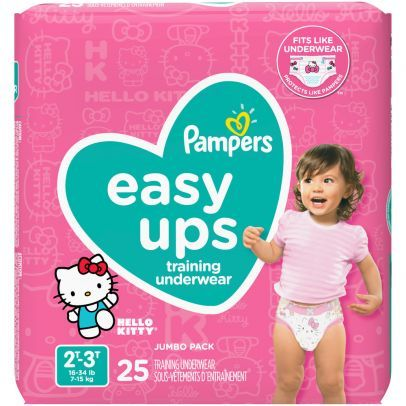 Pampers Easy Up 2T-3T Girls