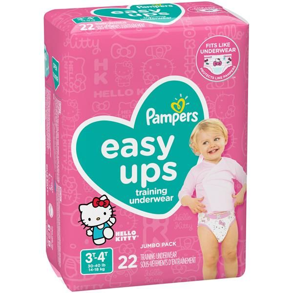 Pampers Easy Up 3T-4T Girls