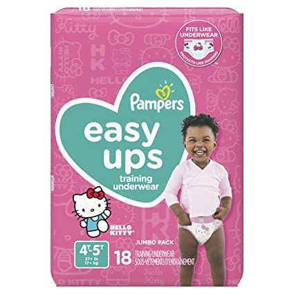 Pampers Easy Up 4T-5T Girls