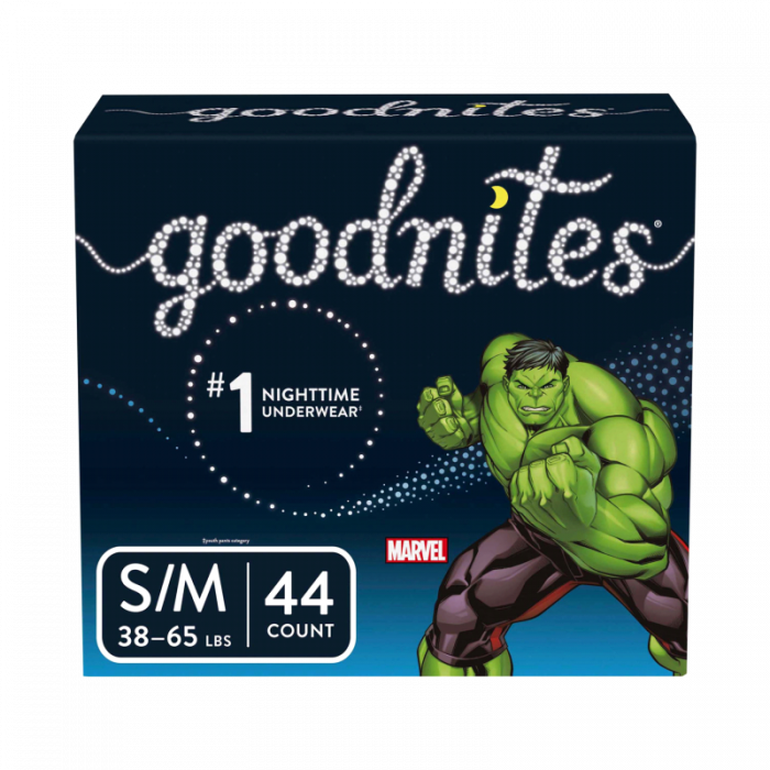 Goodnites Bedtime Pants S/M (44 Ct)