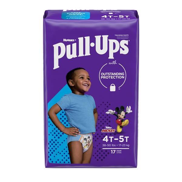 Huggies Pull Ups Boys 4T-5T