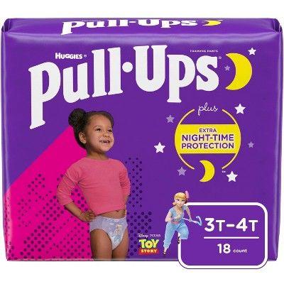 Huggies Pull Ups Girls 3T-4T