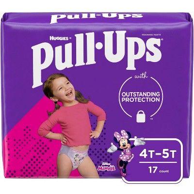 Huggies Pull Ups Girls 4T-5T