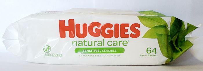 Huggies Wipes Natural Care Sensitive Fragrance Free (64 Ct)