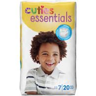 Cuties Diapers Size 7 (20 Ct)