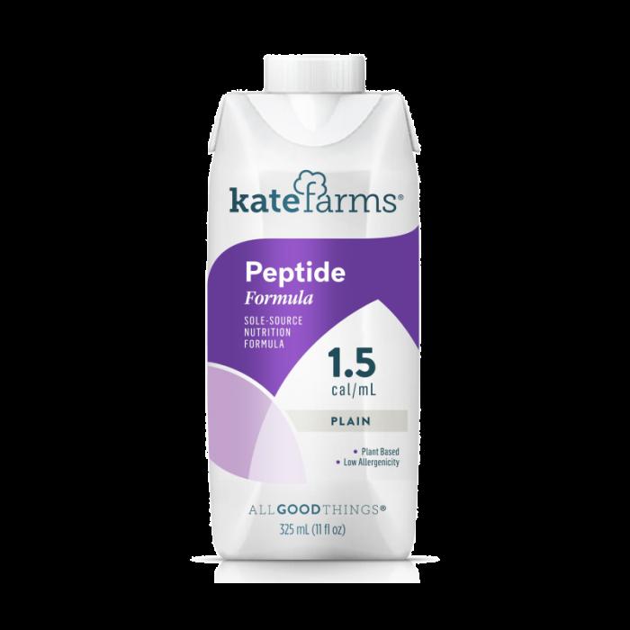 Kate Farms Peptide Plain 1.5 Cal (12 x 325 Ml)
