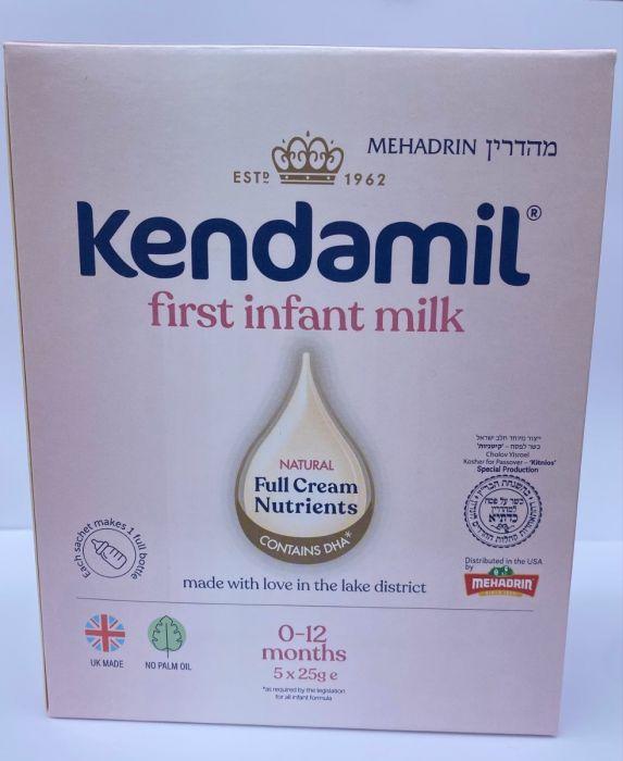 Kendamil Infant Formula Travel Packs (5 x 25G)