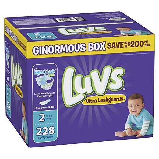 Luvs Size 2
