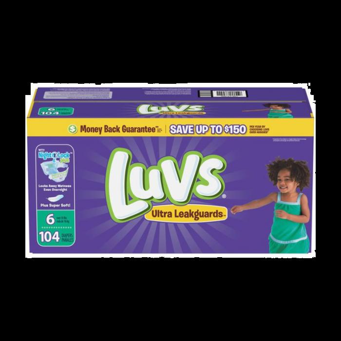 Luvs Size 6