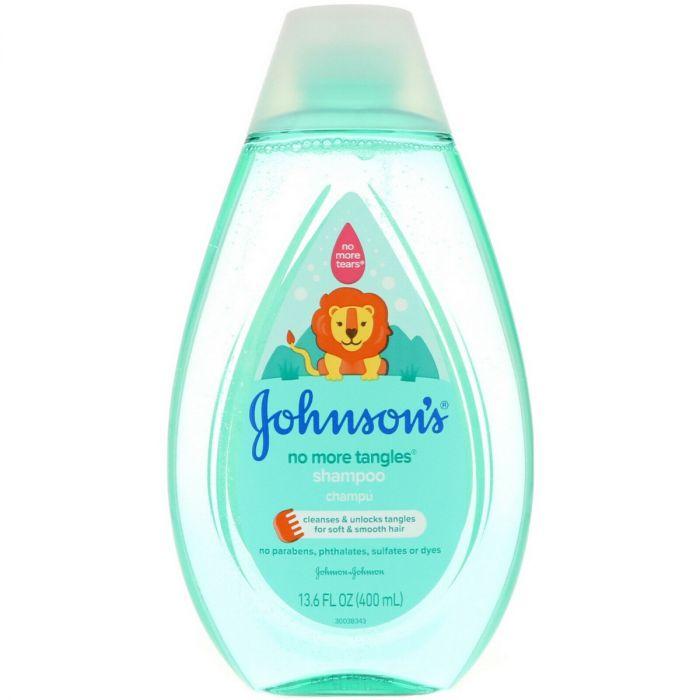 Johnsons No More Tangles Shampoo (13.6 Oz)